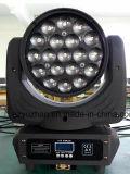 Éclairage léger d'oeil de bourdon de l'étape DEL RGBW