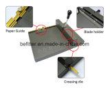Taladradora de cese SM-460 y manual/máquina que anota de papel manual de la oficina