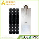 50W 5 anos de luz de rua solar do diodo emissor de luz da garantia com controle de tempo para a estrada