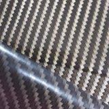 Película hidrográfica imprimible de la impresión PVA de la transferencia del agua de la fibra del carbón de Kingtop para la inmersión hidráulica con el 1m Wdf661A ancho