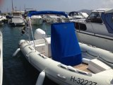 PVC/Hypalon Fiberglas-Rumpf-aufblasbares Rippen-Boot mit Konsole