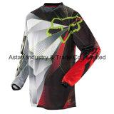 Черный ориентированный на заказчика участвуя в гонке Джерси/Motocross участвуя в гонке Джерси (MAT40)