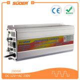 충전기 (SUA-2000C)를 가진 AC 230V 변환장치 2000W 태양 변환장치에 Suoer DC 12V