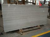 Сляб китайской радуги начала естественной каменной белый мраморный с прямой веной для строительного материала