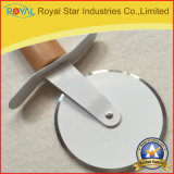 Het de in het groot Snijder van de Pizza van het Roestvrij staal van het Hulpmiddel van de Keuken/Mes van de Pizza (RYST0133C)