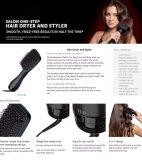 Электрическая быстрая щетка раскручивателя волос