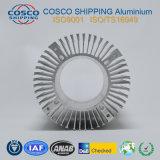 Aluminiumprofil für Kühlkörper mit der natürlichen Anodisierung und der maschinellen Bearbeitung