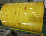 El modelo de madera PPGI de PPGI prepintó bobinas de acero galvanizadas