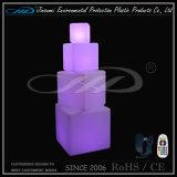 Presidenza della sede del cubo della mobilia LED di illuminazione con il cambiamento di colore