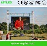 P3.9 im Freien hohe stadiums-Ereignis LED-Bildschirmanzeige der Helligkeits-HD Miet