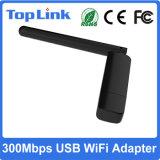 Cartão de rede sem fio do USB WiFi da faixa dupla de Top-GS07 Ralink Rt5572n 300Mbps 2.4G /5g