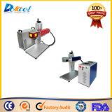 Mini 10W Portable Fiber Laser Marking Máquinas de decalque para decoração e artesanato
