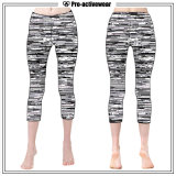 Wholesale Custom Compression Tights OEM Factory Lycra Capri Pants Yoga
