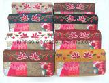 Печатание и вышивка конструировали бумажник/бумажник ткани холстины