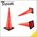 cône noir injecté de circulation de PVC de la base 36inch (90cm)