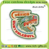 カスタマイズされた昇進のギフト柔らかいゴム製冷却装置磁石の記念品メキシコ(RC- MX)