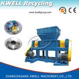 Trinciatrice di gomma d'acciaio dell'asta cilindrica di Doubel del metallo/smerigliatrice di plastica automatica dello spreco