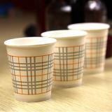 Tazas calientes de papel de un sólo recinto coloridas de la bebida 2.5oz