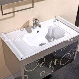 Governi popolari moderni di vanità della stanza da bagno dell'acciaio inossidabile (T-006)