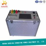 Transformador en el probador de los parámetros del cambiador del golpecito de la carga