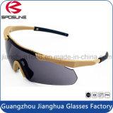 A segurança militar descartável clara super Eyewear Tr90 feito sob encomenda molda vidros à prova de balas táticos do tiro