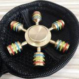 O girador de bronze da inquietação da mão do rolamento do rolamento da liga do metal brinca o cubo