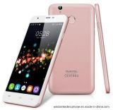 アンドロイド6.0の携帯電話5.5のインチMtk6737のクォードコア携帯電話2gのRAM 16g ROM 13.0MP 4G Lteのスマートな電話ローズの金と元のOukitel U7