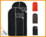Мешки одежды Eco содружественные Non сплетенные с ясными окном PVC & крышкой костюма