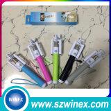 Bâtons pliables de Monopod Selfie de mini téléphone mobile avec le câble