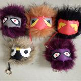 중국의 공급자 괴물 모피 Keychain 또는 너구리 모피 공 또는 장난감 괴물