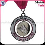 Beëindigt de matrijs Gegoten Antiquiteit van de Legering van het Zink Medailles van de Jonge geitjes van het Metaal van de Douane de Leuke Lopende