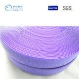 Qualitäts-purpurroter geläufiger Nylonhaken und Schleife