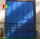 Portello veloce automatico della saracinesca del PVC di alta velocità di grande zona esterna del vento (Hz-FC0056)