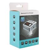 3 USB車の充電器2.1Aおよびハンズフリーに呼出すことが付いているBluetooth車キットFMの送信機(BC12)