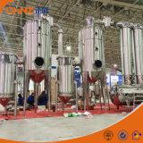 Evaporador aire acondicionado externa del efecto múltiple para la maquinaria farmacéutica de las hierbas químicas del alimento