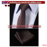 Laço de gravata de gravata com gravata 100% Jacquard para homem gravado (B8053)