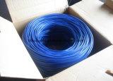 Cable del establecimiento de una red de la alta calidad UTP Cat5e del precio de fábrica con 4 pares Twisted (ETL)