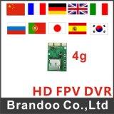 Module coréen de Fpv DVR de langage, carte du FT 32GB utilisée, ultra léger et de petite taille