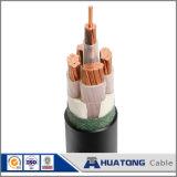 Câble souterrain avec le câble de Nayy Nyy d'isolation de PVC et de gaine de PVC