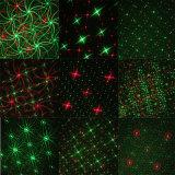 Luz del proyector del laser para las decoraciones del día de fiesta del jardín del paisaje