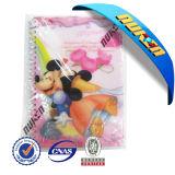 도매 Plastic Cover Lenticular 3D Notebook