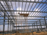 鉄骨構造の倉庫か金属のプレハブの建物(SS-331)