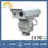 câmera infravermelha do laser PTZ do IP da visão noturna de 2km
