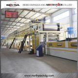 WJ1600-2200 5 camadas de linha de produção automática do papel ondulado