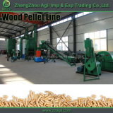 Machine de granulation énergétique verte Biomasse Ligne de production complète de granulés de bois