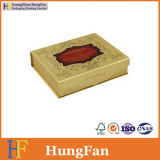 포장지 보석 장식용 선물 상자를 인쇄하는 황금 색깔
