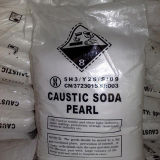 Parels en de Bijtende Soda van Vlokken/het Hydroxyde van het Natrium met Zuiverheid van 99%