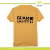 T-shirt fait sur commande de marathon d'impression