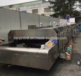 Gefriehrmaschine des Edelstahl-flüssige Stickstoff-IQF