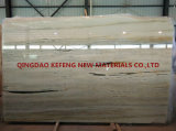 Сляб желтых королевских строительных материалов проекта нефрита естественный мраморный большой